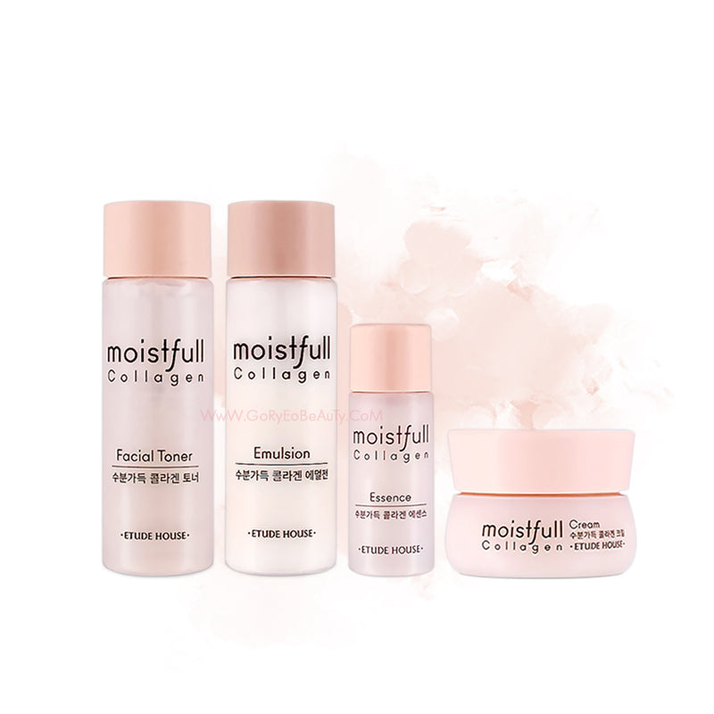 Etude House Moistfull Collagen Skin Care Kit [4 Kinds] - Goryeo Cosmetics worldwide shop