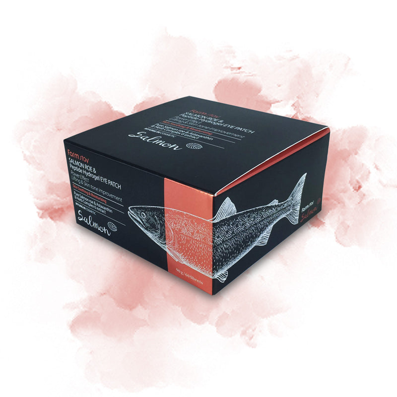 Farm stay Salmon Roe & Peptide Hydrogel Eye Patch - Goryeo Cosmetics worldwide shop