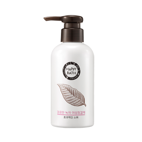 HAPPY BATH Green Tea Feminine Cleanser - Goryeo Cosmetics worldwide shop