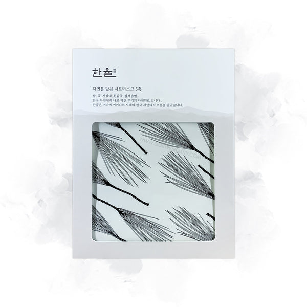 5 sheets Hanyul mask