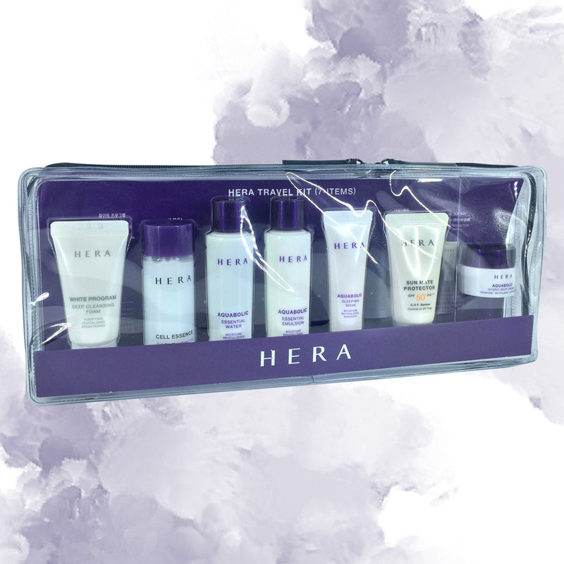 Hera Travel Trial Kit - 7 items - Goryeo Cosmetics worldwide shop