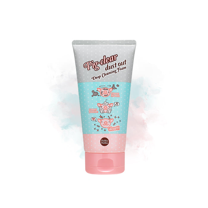 Holika Holika Pig-Clear Dust out Deep Cleansing Foam - Goryeo Cosmetics worldwide shop