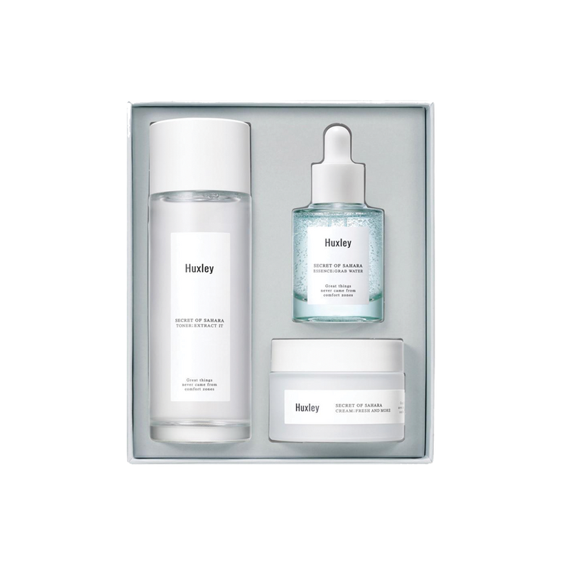 HUXLEY HYDRATION TRIO SET - Goryeo Cosmetics worldwide shop