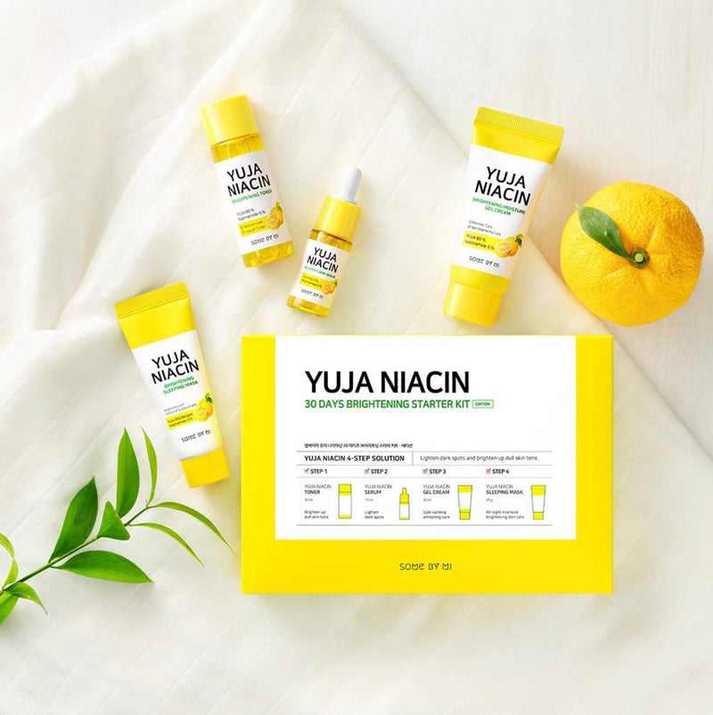 SOME BY MI Yuja Niacin 30 Days Brightening Starter 4 Pcs Set - Goryeo Cosmetics worldwide shop