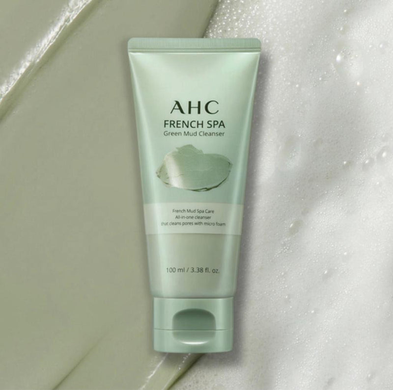 AHC French Spa Green Mud Cleanser