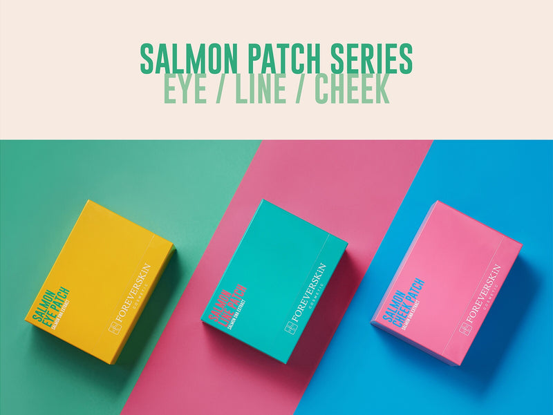 FOREVER SKIN Salmon Cheek Patch 10pcs Salmon DNA Extract - Goryeo Cosmetics worldwide shop
