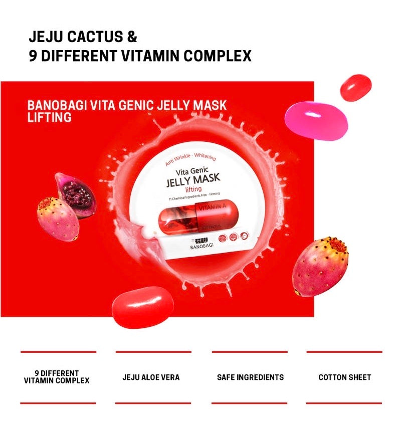 BANOBAGI Vita Genic Lifting Jelly Mask - Goryeo Cosmetics worldwide shop