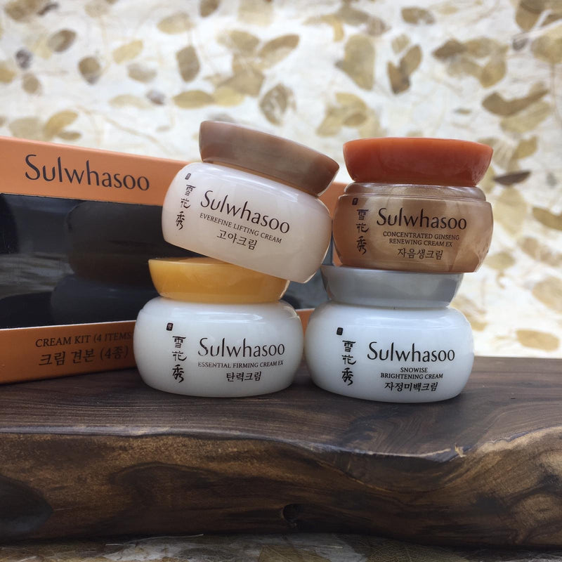 Sulwhasoo Ginseng Renewal Anti-Aging Firming Cream Trial Kit