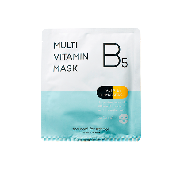 Vitamin B5 hydrating mask