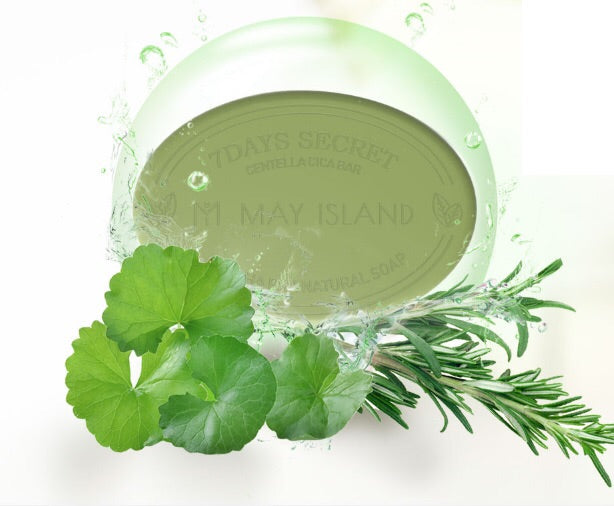 MAY ISLAND Centella Cica Pore Cleansing Bar - 100g - Goryeo Cosmetics worldwide shop