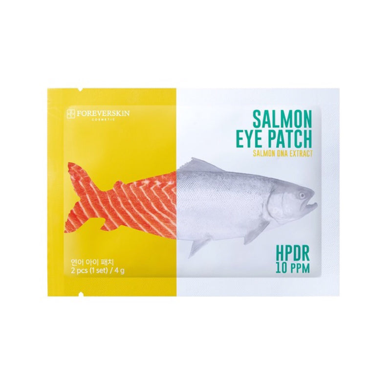 Eye patches salmon extract