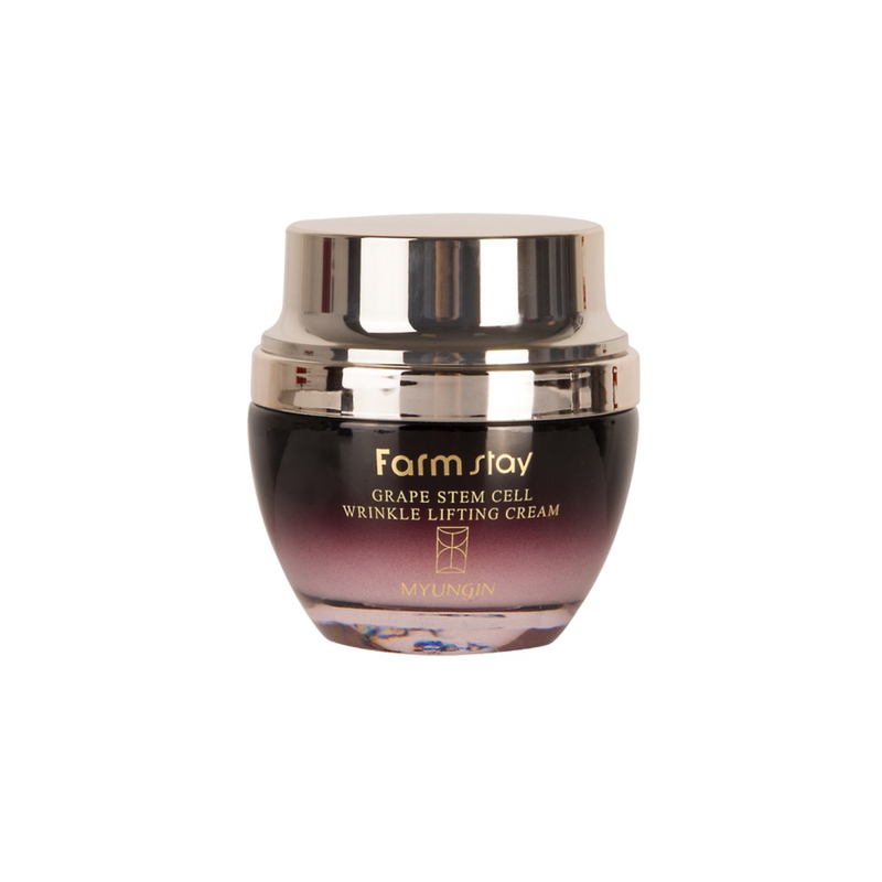 Farm Stay Grape Stem Cell Wrinkle Lifting Cream 50ml - Goryeo Cosmetics worldwide shop