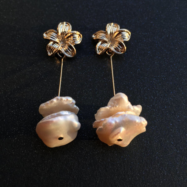Korean style shell earrings