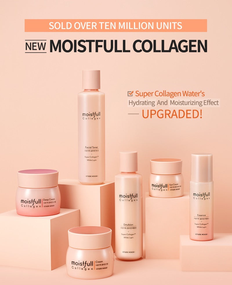 ETUDE HOUSE Moistfull Collagen Cream - Goryeo Cosmetics worldwide shop