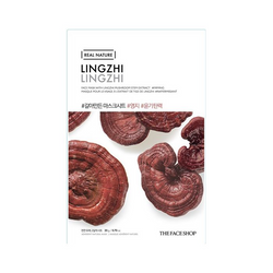THE FACE SHOP REAL NATURE MASK SHEET LINGZHI-1 unit