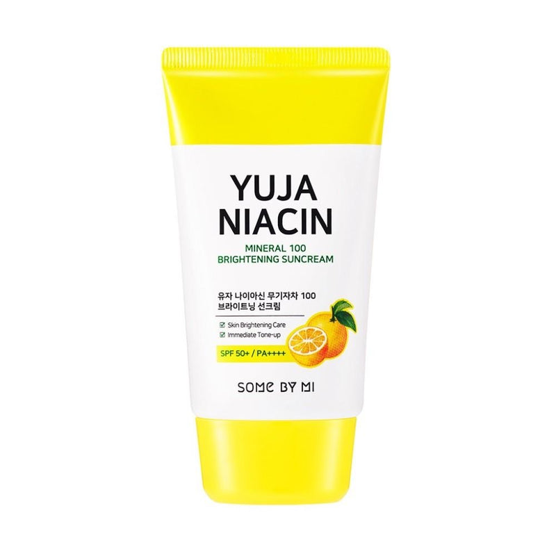 SOMEBYMI Yuja Niacin Mineral 100 Brightening Suncream