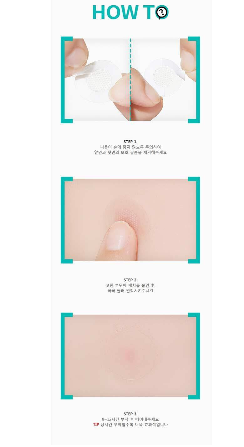 A'PIEU Madecassoside Needle Spot Patch - Goryeo Cosmetics worldwide shop