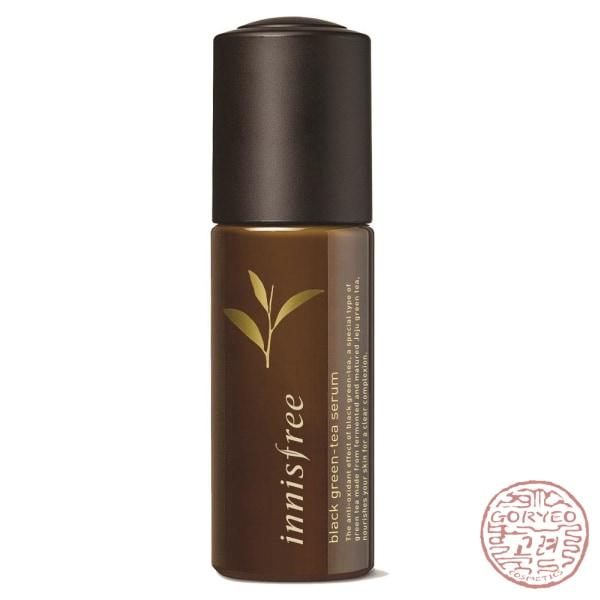 Innisfree Black Green Tea Serum 50ml - Goryeo Cosmetics worldwide shop