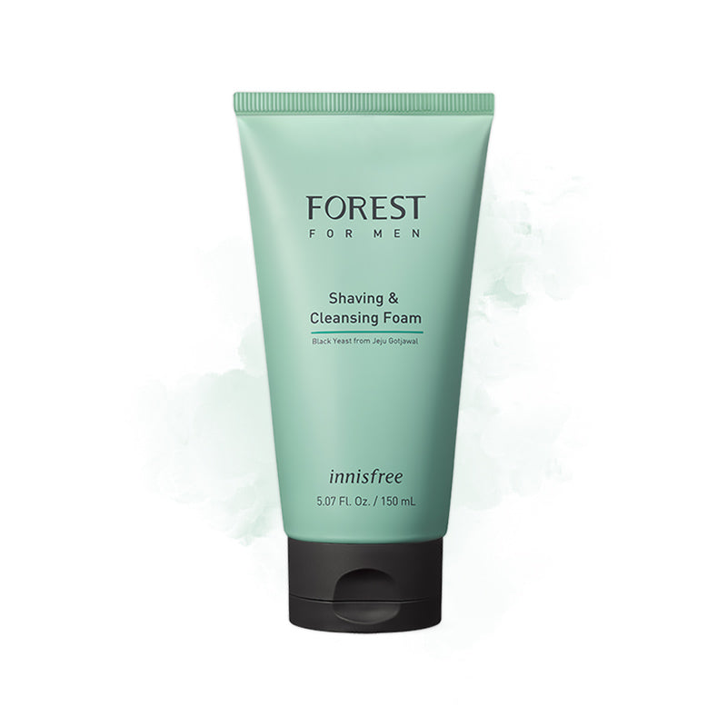 Innisfree Forest for Men Shaving and Cleansing Foam - Goryeo Cosmetics worldwide shop