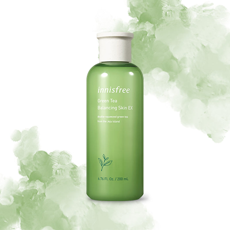 Innisfree Green Tea Balancing Skin EX Toner 200ml - Goryeo Cosmetics worldwide shop