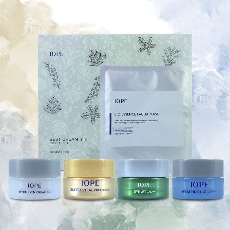 IOPE BEST CREAM mini SPECIAL KIT