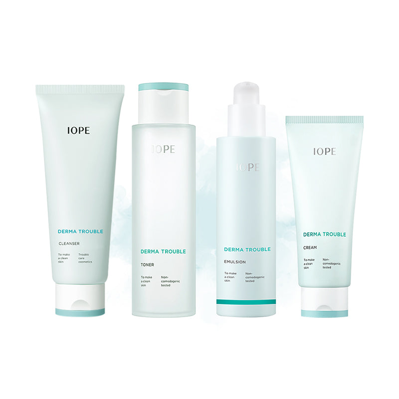 IOPE Derma Trouble Full Set - Goryeo Cosmetics worldwide shop