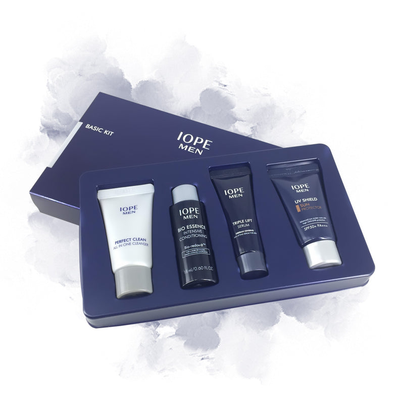 IOPE MEN Basic Trail Kit (4 items) - Goryeo Cosmetics worldwide shop