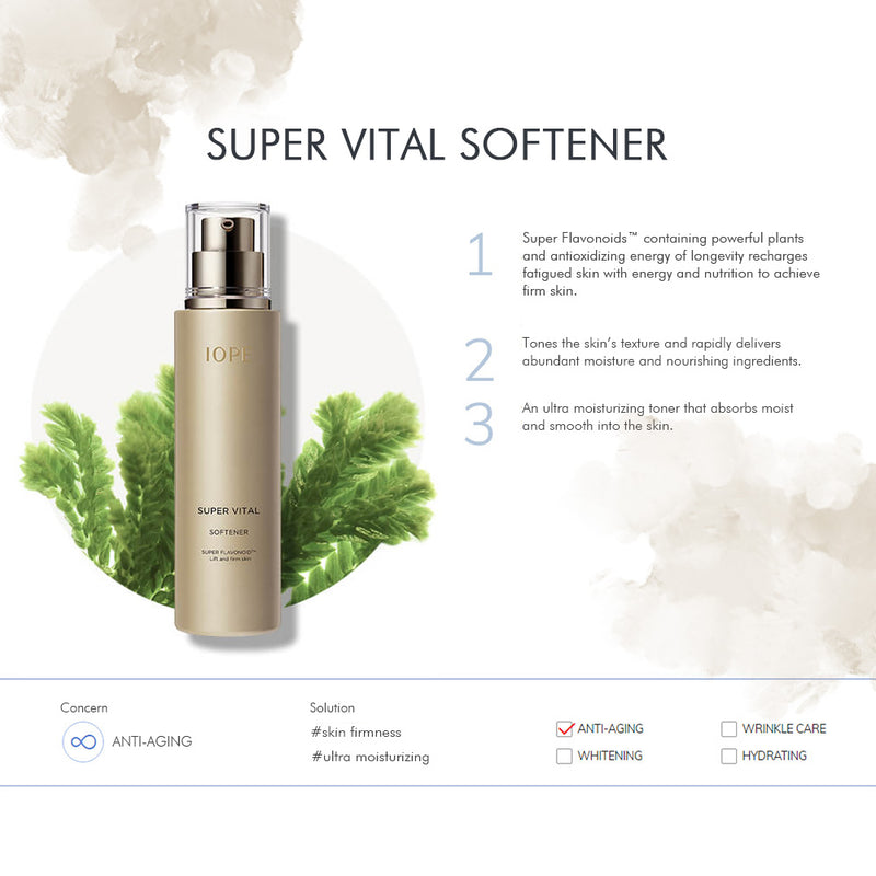 IOPE SUPER VITAL SOFTENER - Goryeo Cosmetics worldwide shop