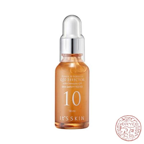 It's Skin Power 10 Formula Serum, Q10 EFFECTOR with Coenzyme Q10, 30 ml - Goryeo Cosmetics worldwide shop
