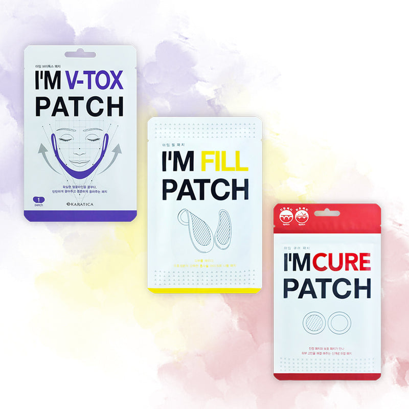 KARATICA I'M FILL PATCH, I'M CURE PATCH & V-TOX PATCH - Goryeo Cosmetics worldwide shop