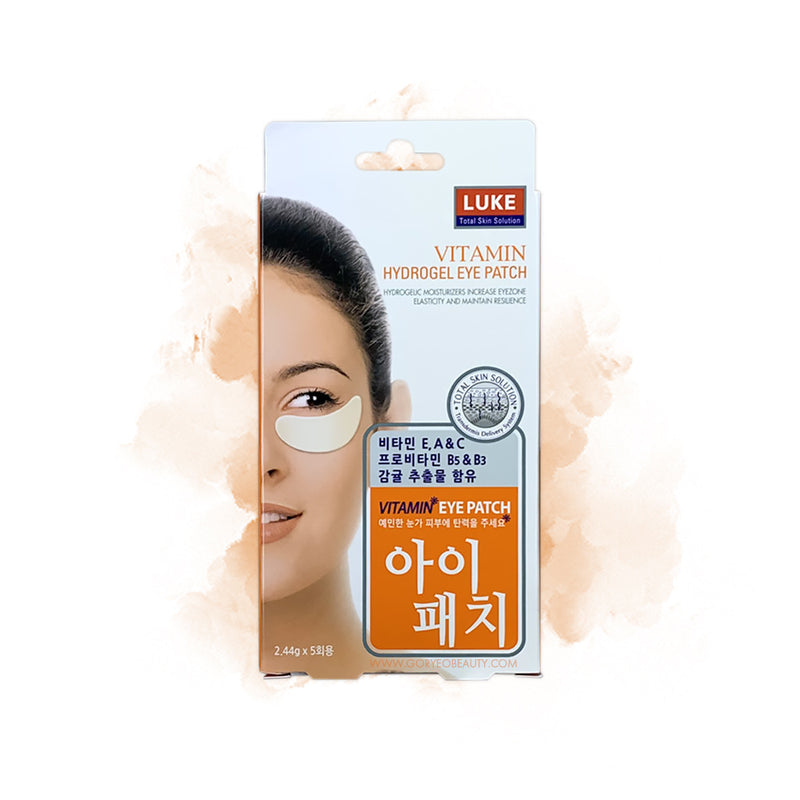LUKE Vitamin Hydrogel Eye Patch - Goryeo Cosmetics worldwide shop