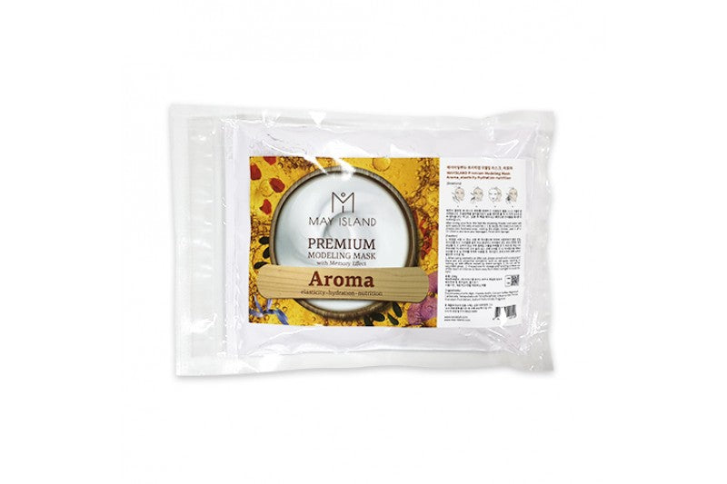 MAY ISLAND PREMIUM MODELING MASK WITH MEMORY EFFECT - 250G - Goryeo Cosmetics worldwide shop
