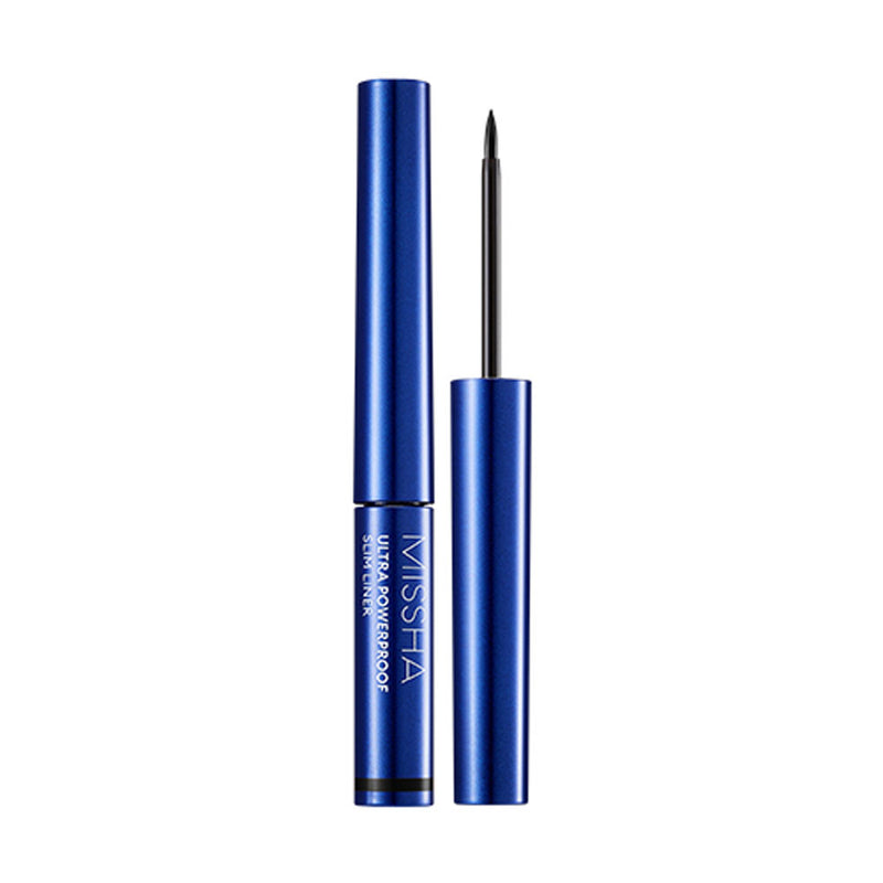 MISSHA ULTRA POWERPROOF SLIM LINER (MATT BLACK) - Goryeo Cosmetics worldwide shop