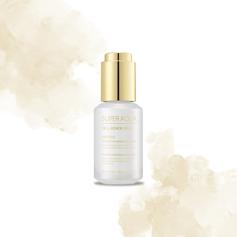 Missha Super Aqua Snail Ampoule - Goryeo Cosmetics worldwide shop