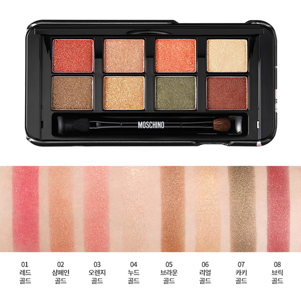 TONYMOLY MOSCHINO SUPER BEAM EYE PALETTE- ALL OF GOLD