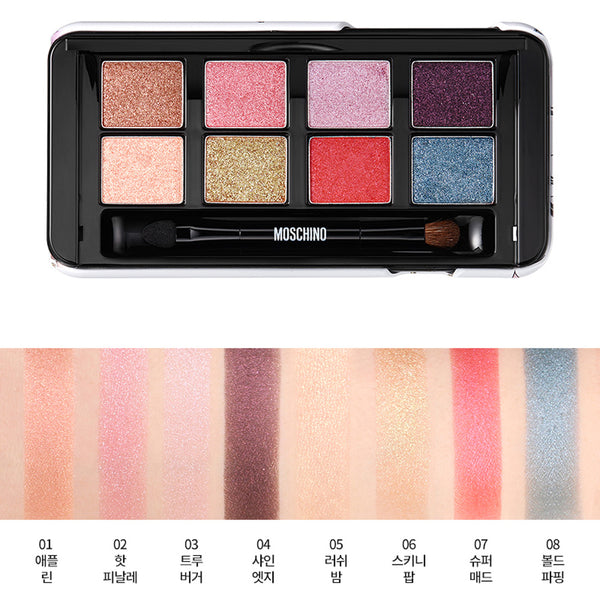 TONYMOLY MOSCHINO SUPER BEAM EYE PALETTE- ALL OF COLOR