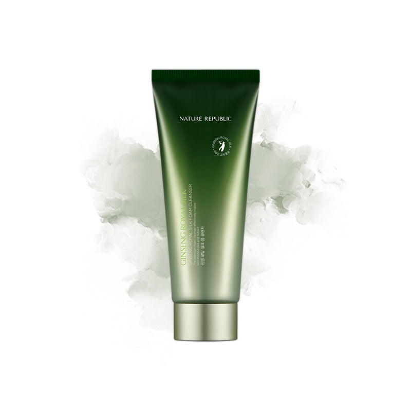NATURE REPUBLIC Ginseng Royal Silk Foam Cleanser - Goryeo Cosmetics worldwide shop