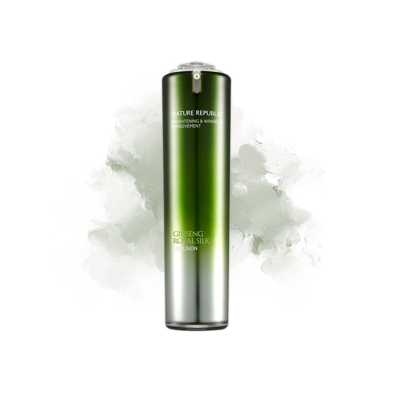 Nature Republic GINSENG ROYAL SILK EMULSION - Goryeo Cosmetics worldwide shop