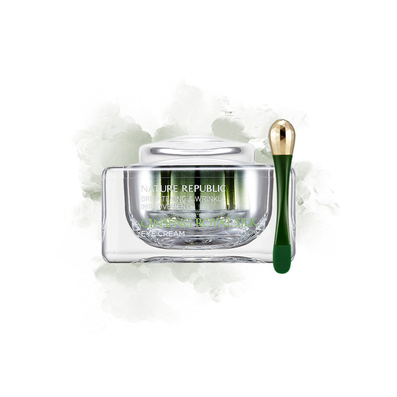 NATURE REPUBLIC Ginseng Royal Silk Eye Cream - Goryeo Cosmetics worldwide shop