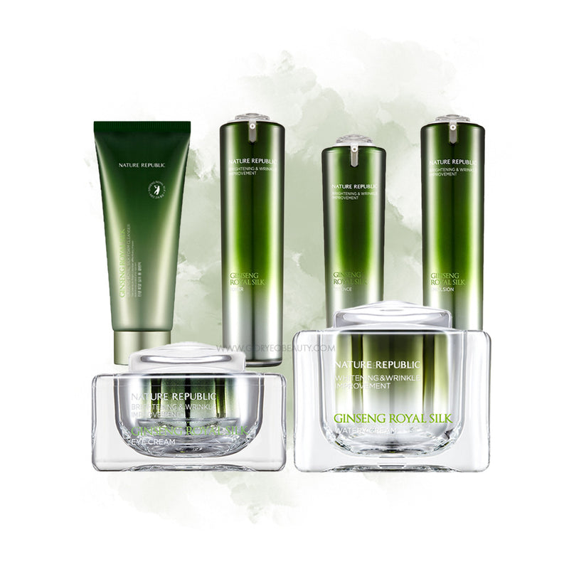 NATURE REPUBLIC GINSENG ROYAL SILK SET+ [GIFT] Cleansing Foam - Goryeo Cosmetics worldwide shop