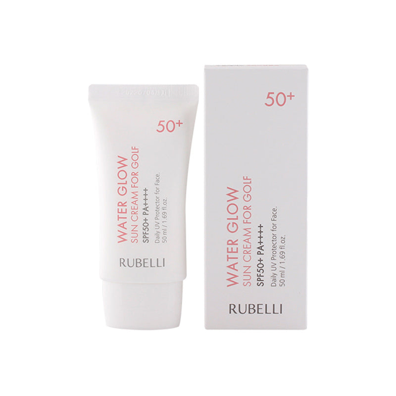 RUBELLI Water Glow sun cream for golf 50ml (SPF50+ PA++++) - Goryeo Cosmetics worldwide shop