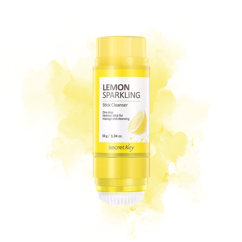 Secret Key Lemon Sparkling Stick Cleanser - Goryeo Cosmetics worldwide shop