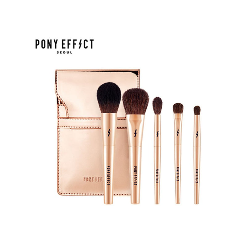 Pony Effect Mini Make-up Brush set