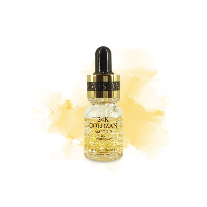 SKINATURE 24K Goldzan Ampoule MINI - Goryeo Cosmetics worldwide shop