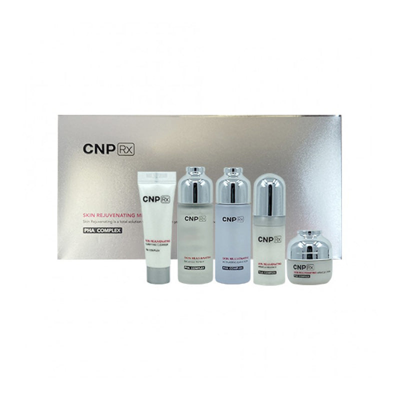 CNP RX SKIN REJUVENATING MINIATURE KIT - Goryeo Cosmetics worldwide shop