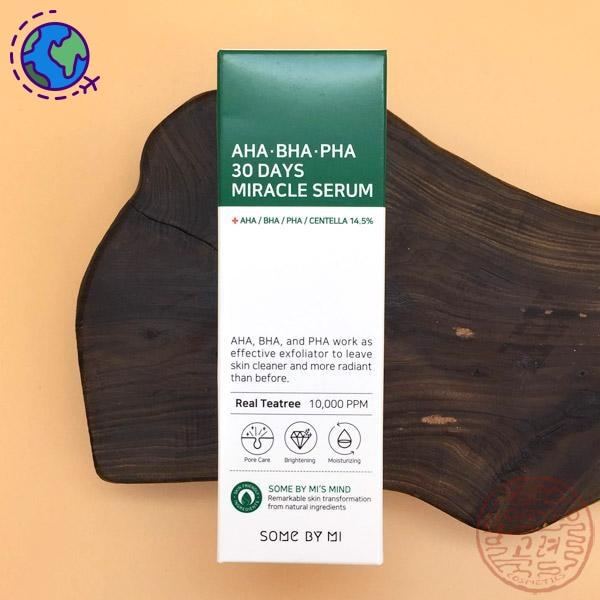 SOME BY MI AHA.BHA.PHA 30 Days Miracle Serum 50ml - Goryeo Cosmetics worldwide shop
