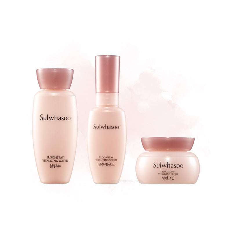 Sulwhasoo Bloomstay Vitalizing Kit (3 Items) - Goryeo Cosmetics worldwide shop