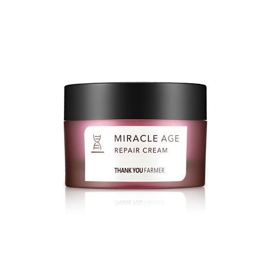 THANK YOU FARMER Miracle Age Repair Cream 50ml - Goryeo Cosmetics worldwide shop