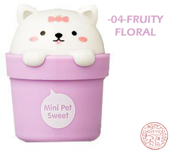 THE FACE SHOP - Lovely ME:EX Mini Pet Perfume Hand Cream - Goryeo Cosmetics worldwide shop