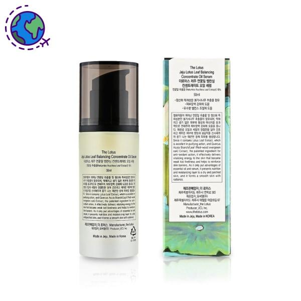 The Lotus Jeju Lotus Leaf Balancing Concentrate Oil Serum 50Ml Serum